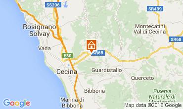 Map Cecina Apartment 58810