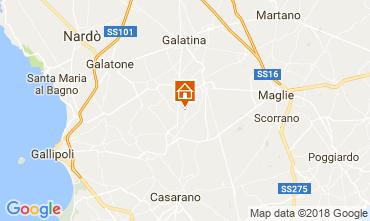 Map Casarano Villa 113763