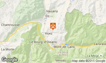 Map Alpe d'Huez Apartment 40228