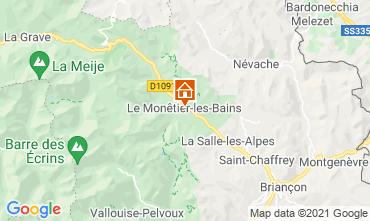 Map Serre Chevalier House 16150