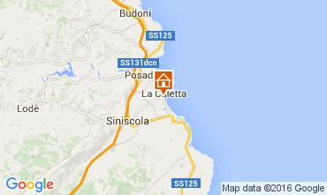 Map La Caletta Apartment 51253