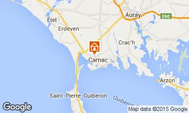 Map Carnac Villa 19337
