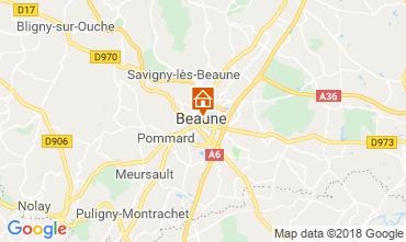Map Beaune Apartment 116813