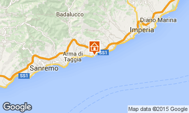 Map Santo Stefano al Mare Apartment 96548
