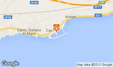 Map Santo Stefano al Mare Apartment 96548
