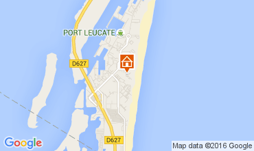 Map Port Leucate One-room apartment 6312