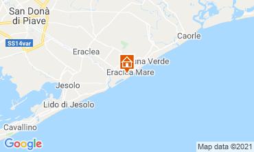 Map Eraclea Mare Apartment 75264