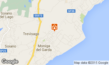 Map Manerba del Garda Apartment 64654