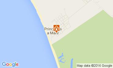 Map Principina a Mare Apartment 106024