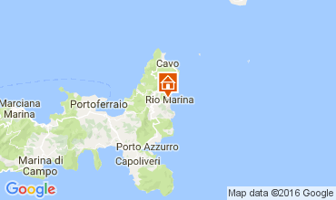 Map Rio Marina Apartment 107034