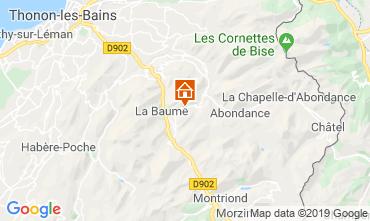 Map Drouzin Le Mont One-room apartment 34212