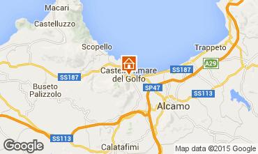 Map Castellammare del Golfo Apartment 63347