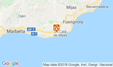 Map La Cala de Mijas Apartment 116308