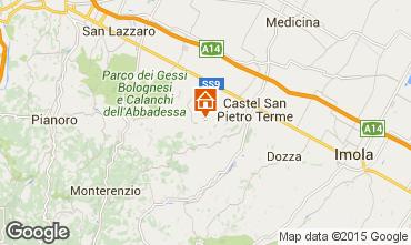 Map Castel San Pietro Terme Apartment 67627