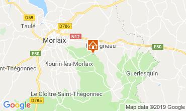 Map Morlaix Vacation rental 118940