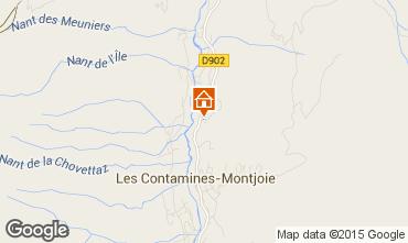 Map Les Contamines Montjoie Chalet 971