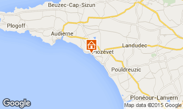 Map Plozevet House 98043