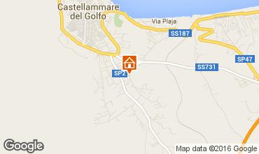 Map Castellammare del Golfo Apartment 48442