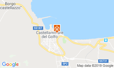 Map Castellammare del Golfo Apartment 104710