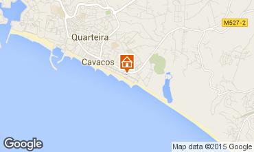 Map Quarteira Apartment 82121
