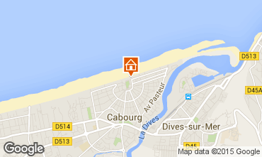 Map Cabourg Villa 82116