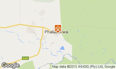 Map Phalaborwa  Vacation rental 61887
