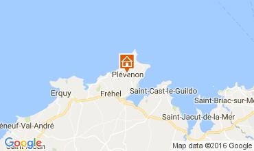 Map Frehel Vacation rental 106905