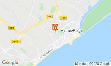 Map Valras-Plage Villa 100786