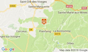 Map Gérardmer House 115801