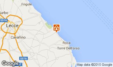 Map San Foca Villa 24434