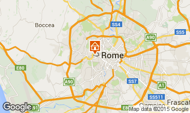 Map Rome Apartment 100673