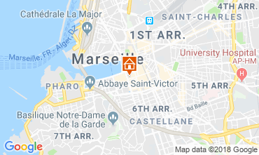 Map Marseille One-room apartment 5963