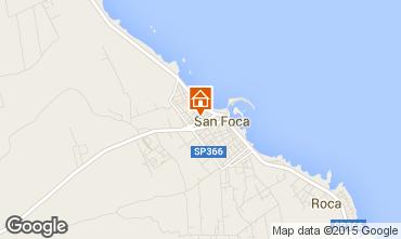 Map San Foca Apartment 70734