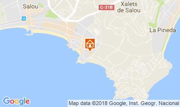 Map Salou Apartment 115800