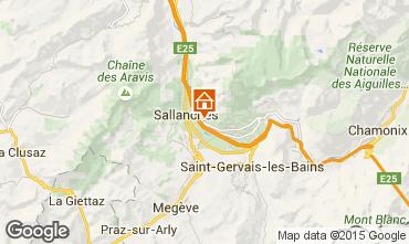 Map Sallanches Apartment 4911