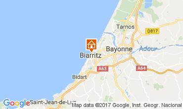 Map Biarritz Apartment 112357