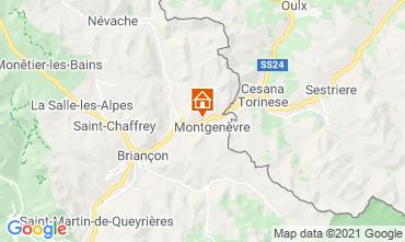 Map Montgenevre Apartment 91157