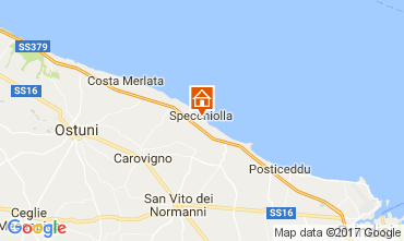 Map Ostuni Villa 110104