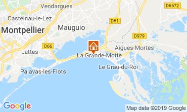 Map La Grande Motte One-room apartment 118711