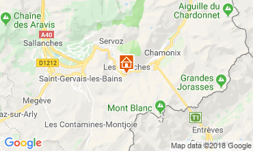 Map Les Houches One-room apartment 49738