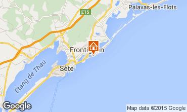 Map Frontignan Apartment 64145