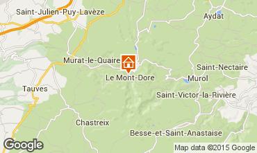 Map Le Mont Dore Apartment 91221