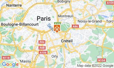 Map PARIS Apartment 13776