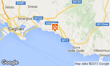 Map Quartu Sant'Elena House 42205