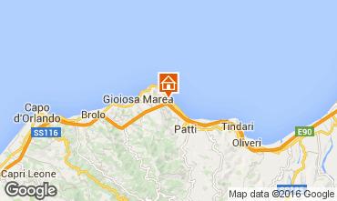 Map Gioiosa Marea Apartment 102730
