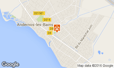 Map Andernos les Bains House 82364