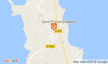 Map Quiberon House 8772