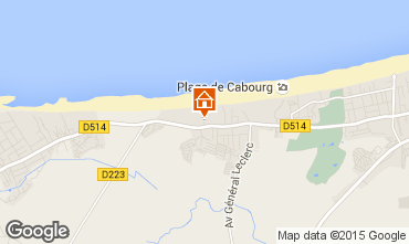 Map Cabourg House 10749