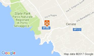 Map Gallipoli Apartment 84405