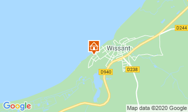 Map Wissant Villa 106031